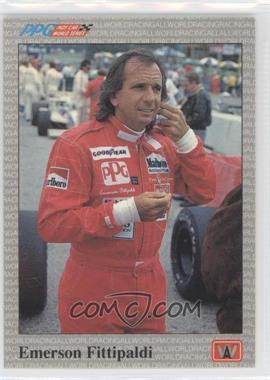 1991 All World PPG Indy Car World Series Sample #S20 - Emerson Fittipaldi