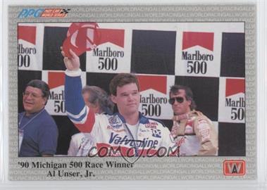 1991 All World PPG Indy Car World Series Sample #S45 - Al Unser Jr.