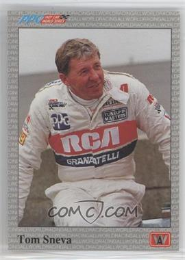 1991 All World PPG Indy Car World Series Sample #S7 - Tom Sneva