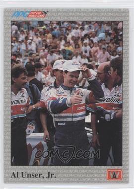 1991 All World PPG Indy Car World Series Sample #S8 - Al Unser Jr.