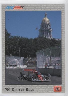 1991 All World PPG Indy Car World Series Sample #S87 - Al Unser Jr.