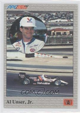 1991 All World PPG Indy Car World Series Samples #S1 - Al Unser Jr.