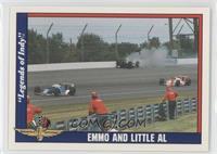Emmo and Little Al (Emerson Fittipaldi, Al Unser Jr.)