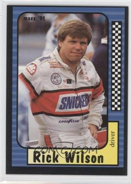 1991 Maxx Collection #8 - Rick Wilson