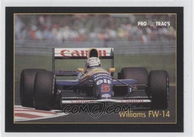 1991 Pro Trac's Formula One - [Base] #10 - Nigel Mansell