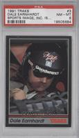 Dale Earnhardt (...Sports Image, Inc. is...) [PSA8]