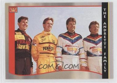 1992 C.D.A. PPG Indy Car World Series #49 - Mario Andretti, Michael Andretti, John Andretti, Jeff Andretti
