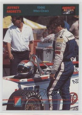 1992 Collect-A-Card Andretti Racing - [Base] #93 - Jeffrey Andretti