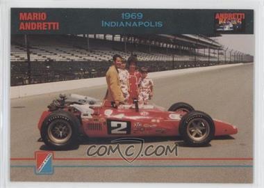 1992 Collect-A-Card Andretti Racing - [Base] #97 - Mario Andretti