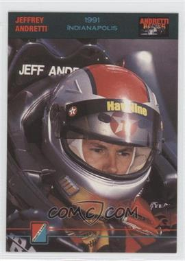 1992 Collect-A-Card Andretti Racing #66 - Jeffrey Andretti