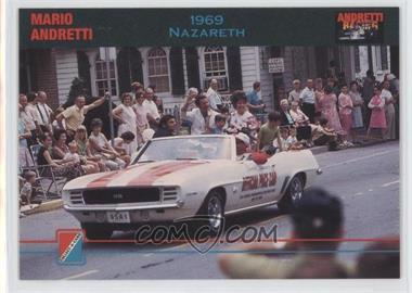 1992 Collect-A-Card Andretti Racing #69 - Mario Andretti