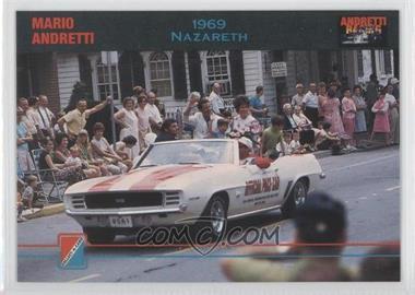 1992 Collect-A-Card Andretti Racing #69 - Mario Andretti