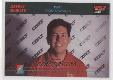 1992 Collect-A-Card Andretti Racing #84 - Jeffrey Andretti