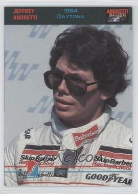 1992 Collect-A-Card Andretti Racing #87 - Jeffrey Andretti