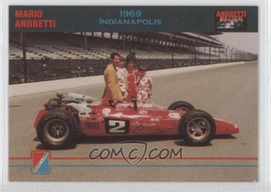 1992 Collect-A-Card Andretti Racing #87 - Mario Andretti