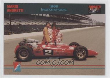 1992 Collect-A-Card Andretti Racing #87 - Mario Andretti