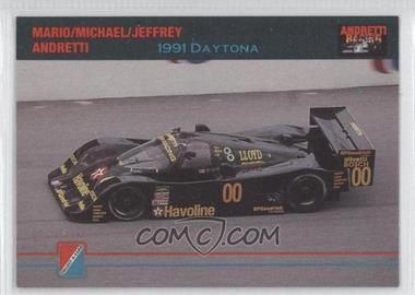 1992 Collect-A-Card Andretti Racing #91 - [Missing]
