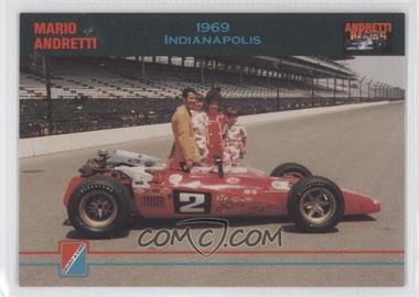 1992 Collect-A-Card Andretti Racing #97 - Mario Andretti