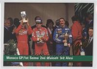 Ayrton Senna, Nigel Mansell, Jean Alesi