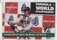Nelson Piquet, Stefano Modena, Riccardo Patrese