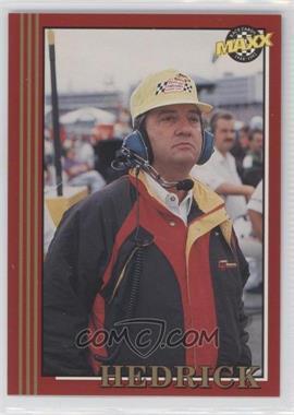 1992 Maxx - [Base] #131 - Larry Hedrick