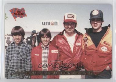 1993 Action Packed - [Base] #145 - Ronald Allison, Donnie Allison, Donald Allison
