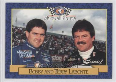 1993 Maxwell House Series 1 Food Issue [Base] #16 - Bobby and Terry Labonte