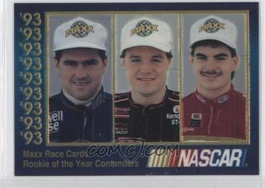 1993 Maxx - Premier Plus #ROY.1 - Bobby Labonte, Kenny Wallace, Jeff Gordon /60000
