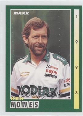 1993 Maxx [???] #160 - Ken Howes