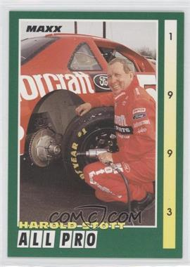 1993 Maxx [???] #257 - Harold Stott
