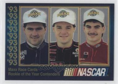 1993 Maxx Premier Plus #ROY.1 - Bobby Labonte, Kenny Wallace, Jeff Gordon /60000