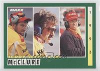 Teddy McClure, Jerry McClure, Ed McClure