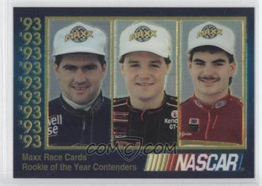 1993 Maxx #ROY.1 - Bobby Labonte, Kenny Wallace, Jeff Gordon /60000