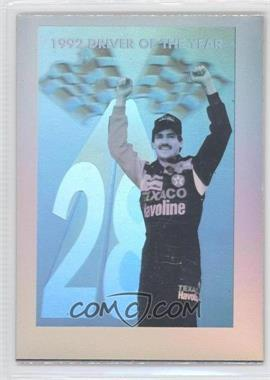 1993 Pro Set Finish Line Driver of the Year Hologram #N/A - Davey Allison