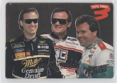 1994 Action Packed #204 - Rusty Wallace, Kenny Wallace, Mike Wallace