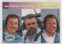 Jim Phillips, Dick Brooks, Winston Kelley
