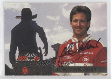 1994 Wheels High Gear - Rookie Shoot-Out - [Autographed] #RS7 - John Andretti /1000