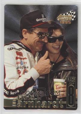 1995 Action Packed Stars - Earnhardt Race for 8 #DE-5 - Dale Earnhardt