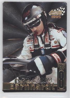 1995 Action Packed Stars - Earnhardt Race for 8 #DE-6 - Dale Earnhardt