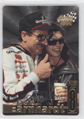 1995 Action Packed Stars Earnhardt Race for 8 #DE-5 - Dale Earnhardt