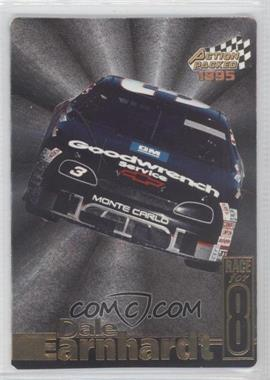 1995 Action Packed Stars Earnhardt Race for 8 #DE-8 - Dale Earnhardt