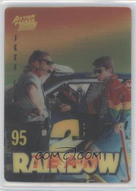 1995 Action Packed Winston Cup Country - Team Rainbow #12 - Jeff Gordon