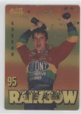 1995 Action Packed Winston Cup Country Team Rainbow #1 - Jeff Gordon (promo)