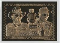 Richard Petty, Dale Earnhardt /10000