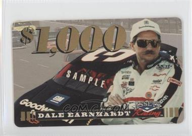 1995 Classic Assets Racing $1,000 Phone Card Sample Dale Earnhardt #N/A - Dale Earnhardt