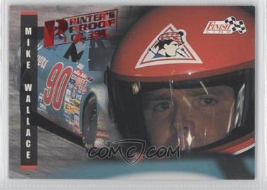1995 Classic Finish Line - [Base] - Printer's Proof #86 - Mike Wallace /398