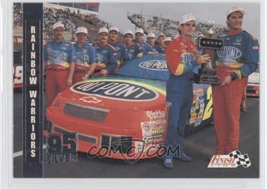 1995 Classic Finish Line Silver #67 - Rainbow Warriors