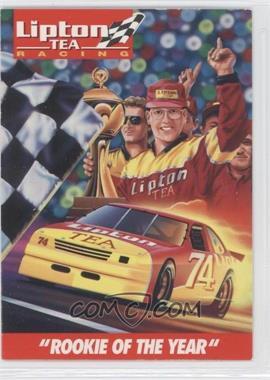 """1995 Lipton Tea Johnny Benson Jr. #NoN - """"Rookie of the Year"""""""