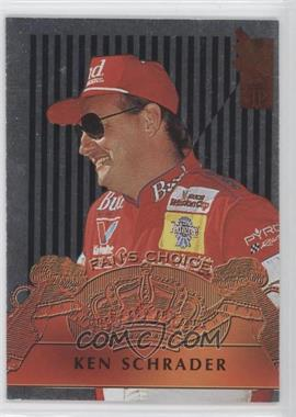 1995 Press Pass VIP Fan's Choice #FC8 - Ken Schrader