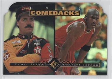1995 SP #CB1 - Ernie Irvan, Michael Jordan